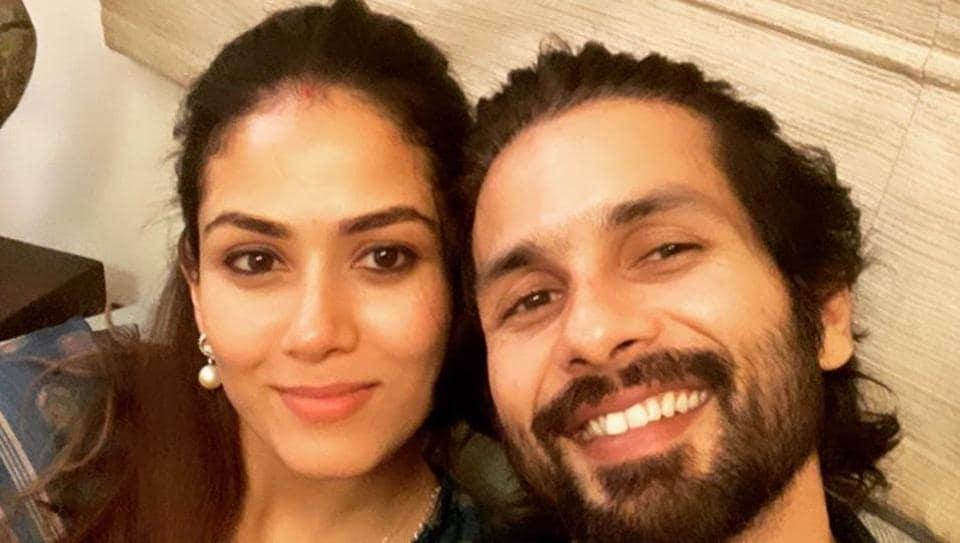Mira Rajput and Shahid Kapoor celebrate 5 years of marriage.