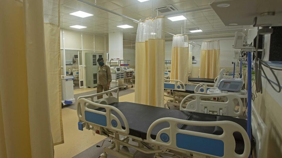 The public hospitals include five each under the Delhi government and central government and one under a municipal corporation. The numbers include ICUbeds with and without ventilators.