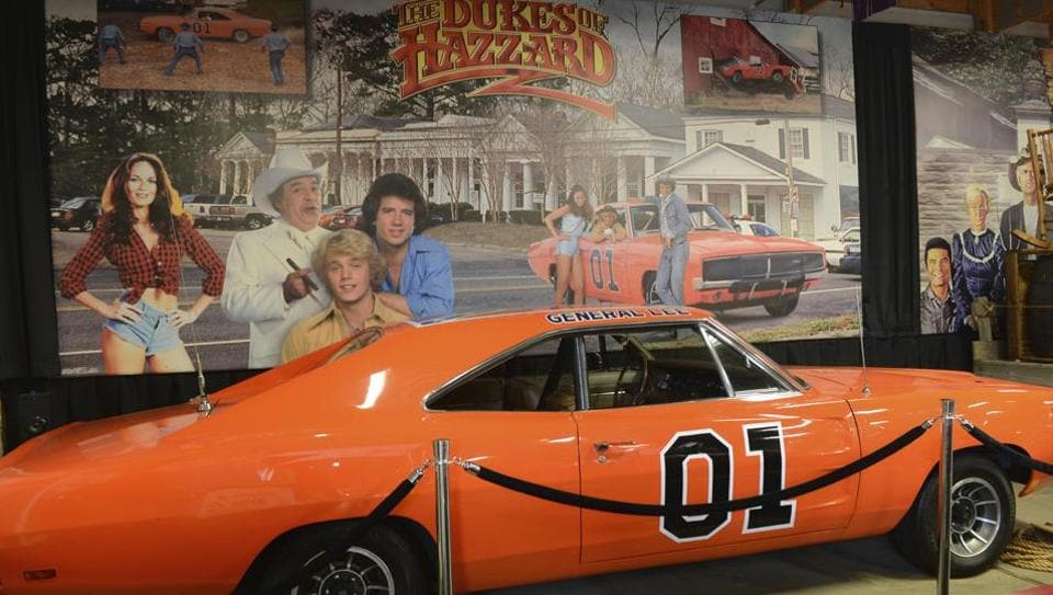 'People love it': Dodge Charger with Confederate flag from Dukes of Hazzard to stay...
