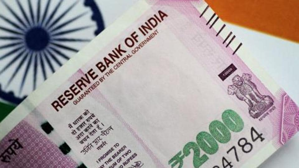 The rupee opened on a positive note at 74.88 at the interbank forex market, but soon lost ground and touched 74.98 against US dollar, down 5 paise over its last close.