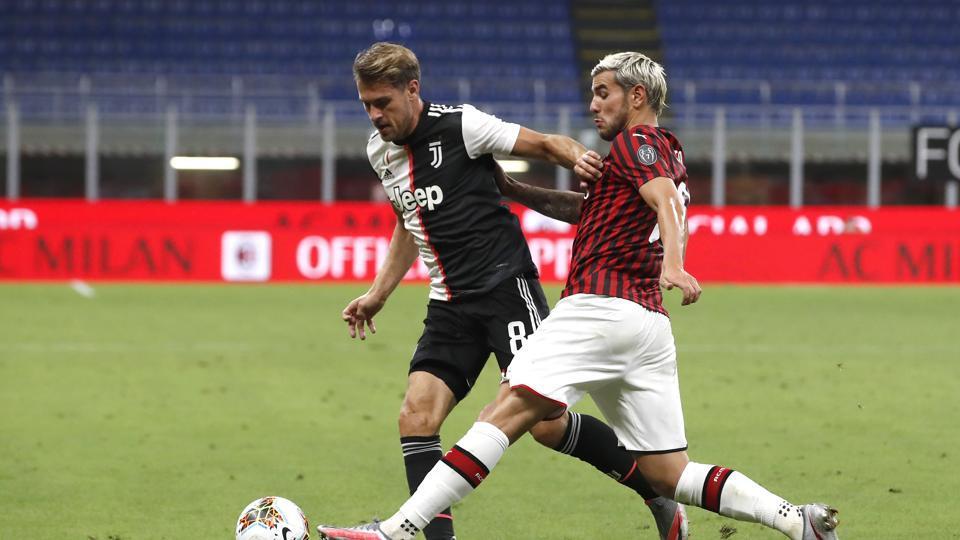 Juventus let 2-goal lead slip in 4-2 loss against AC Milan