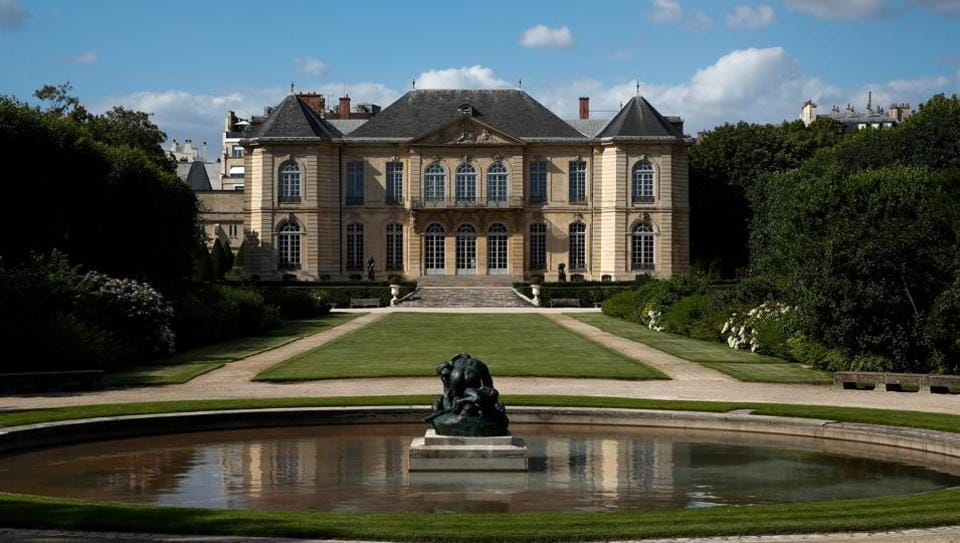 A view shows the Rodin museum on the eve of its reopening after almost 4-month closure due to the coronavirus disease (COVID-19) outbreak in France, July 6, 2020. Picture taken on July 6, 2020. (REUTERS)