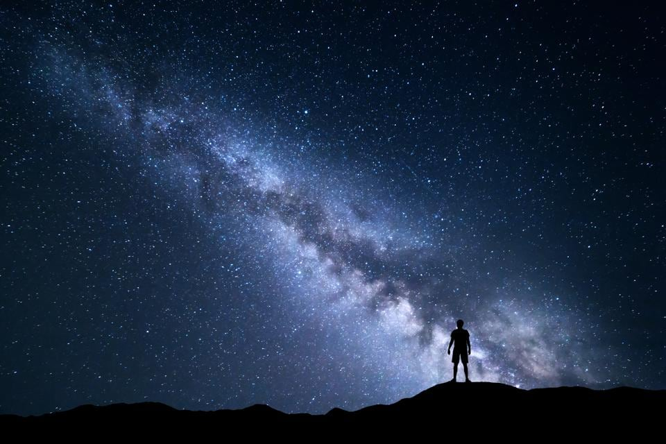 The Milky Way: 'The stars have always outnumbered the dead'.