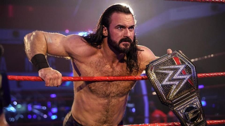 WWE planning dream match for top champion Drew McIntyre