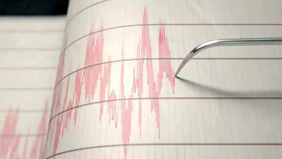 This is the eighth tremor reported in the hilly northeastern state in three weeks.