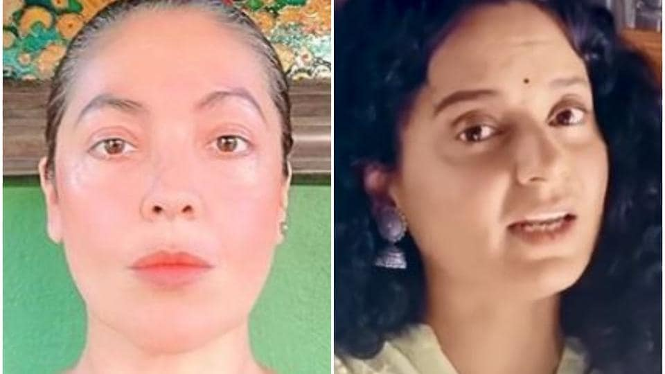Kangana Ranaut and Pooja Bhatt have had a face-off on Twitter over the issue of nepotism.