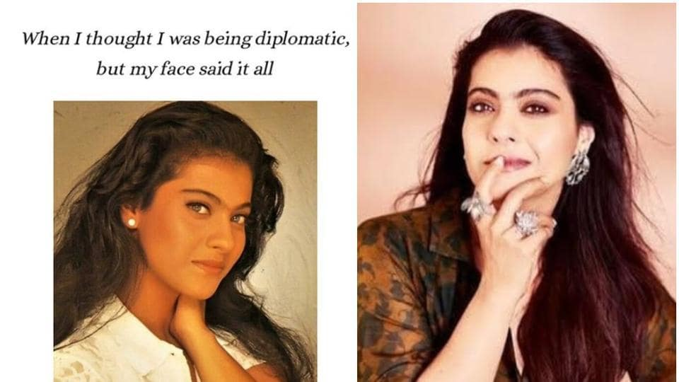 Kajol said that she has never been diplomatic in her life.
