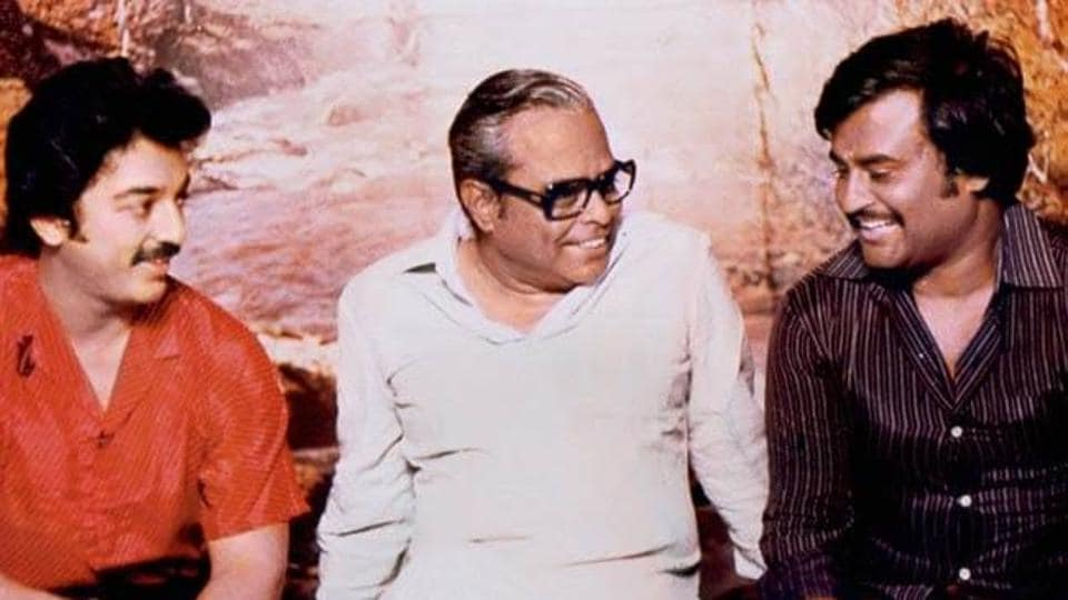 K Balachander has worked extensively with Kamal Haasan, Rajinikanth and Prakash Raj in his lifetime.