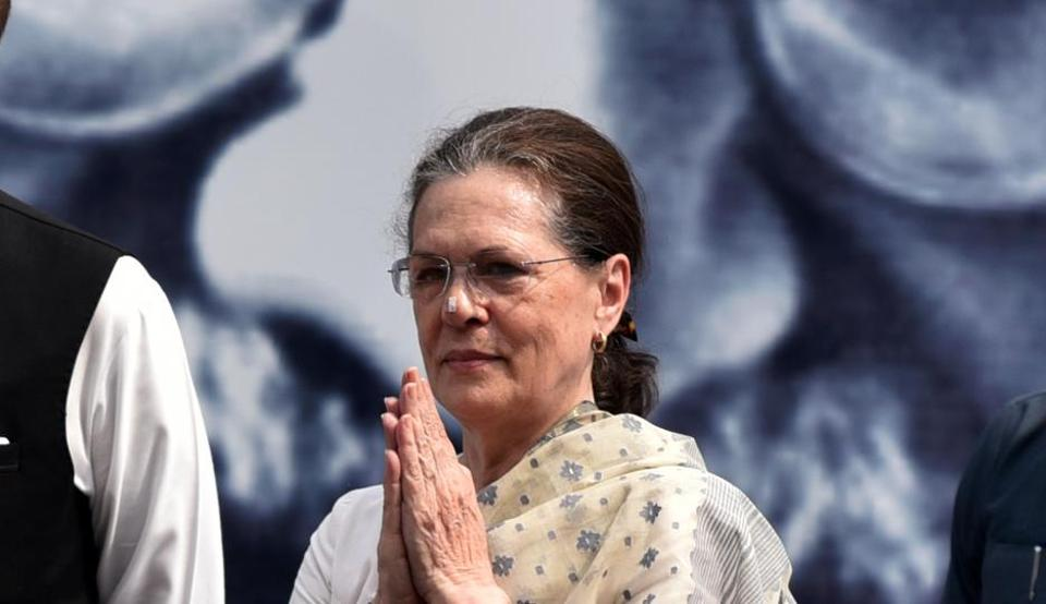 Congress president Sonia Gandhi is the chairperson of RGF (ANI Photo)