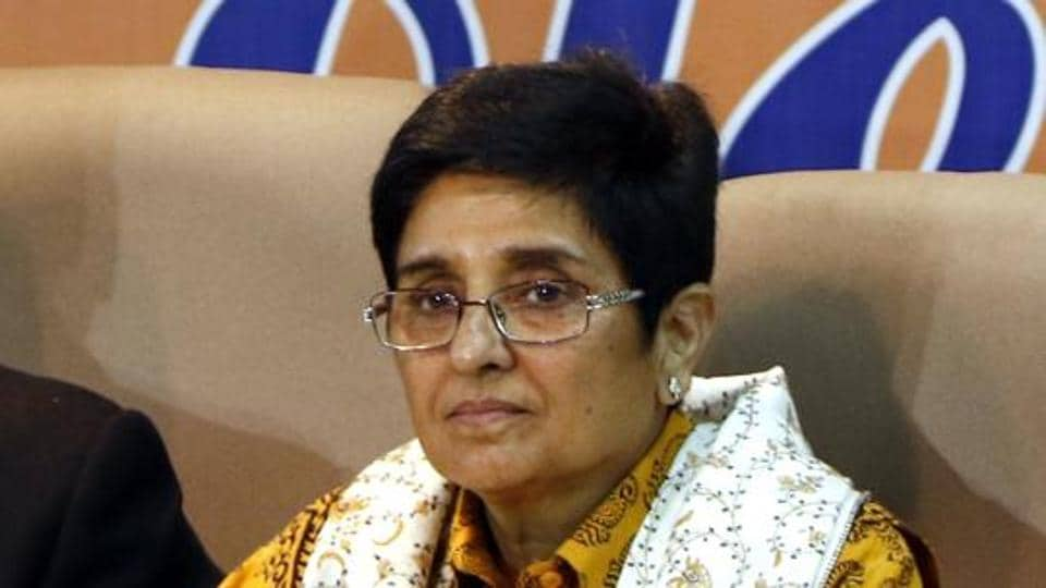 A team of doctors and other health professionals from Indira Gandhi Government Medical college hospital collected the swabs of the Lt Governor Kiran Bedi and other staff for testing on Wednesday.