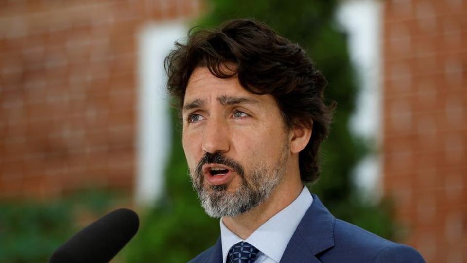 File photo: Canada's prime minister Justin Trudeau.