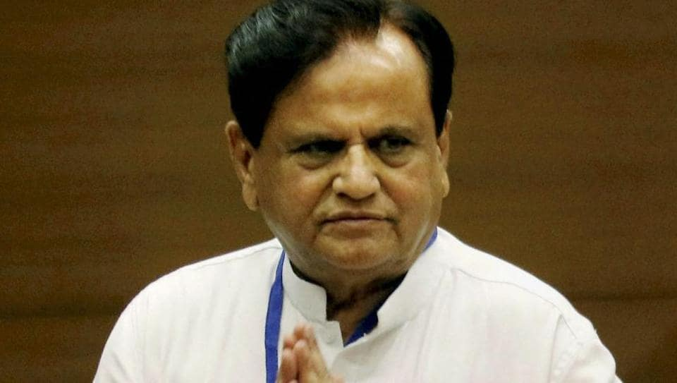 Congress leader Ahmed Patel is being probed by the Enforcement Directorate in connection with a money-laundering case.