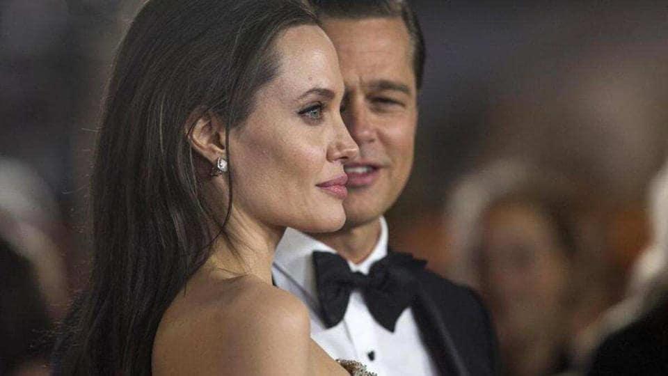 Brad Pitt and Angelina Jolie split in 2016.