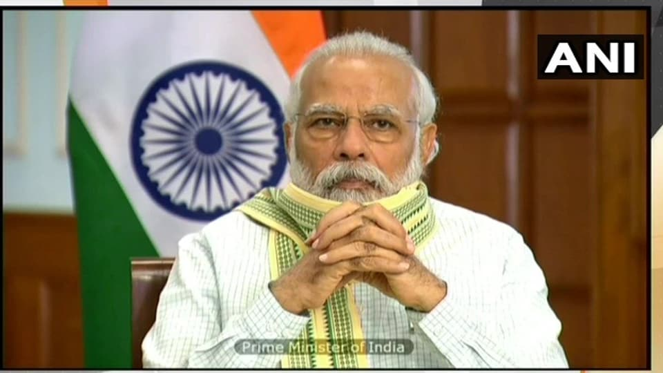 """""""Solar energy is going to be a major medium of energy needs not only today but in the 21st century. Because solar energy is sure, pure and secure,"""" the Prime Minister said."""