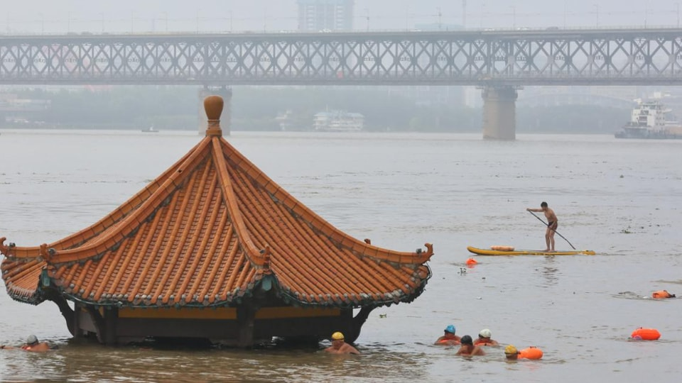 The country has experienced a 20% increase in incidents of heavy rainfall since 1961, the China Meteorological Administration has said.