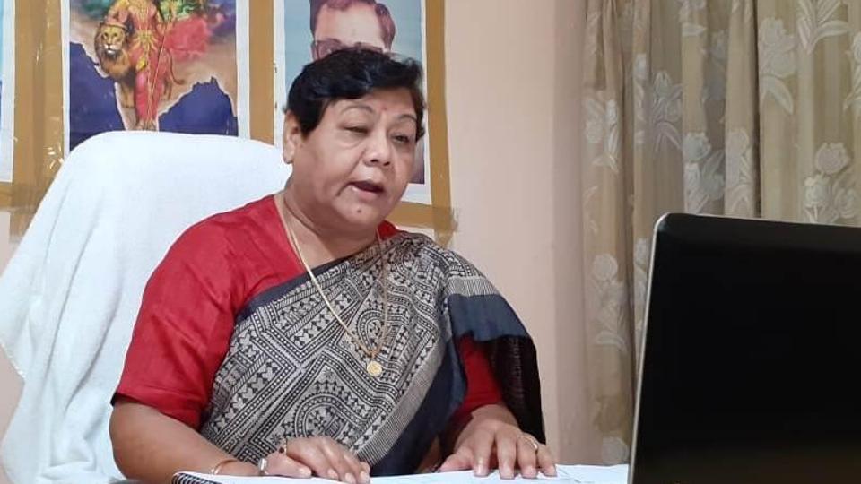 File photo of Chhattisgarh Governor Anusuiya Uikey.