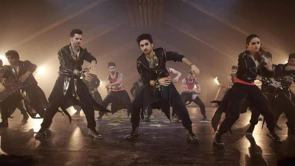 Varun Dhawan in a still from his dance-themed film,ABCD 2.