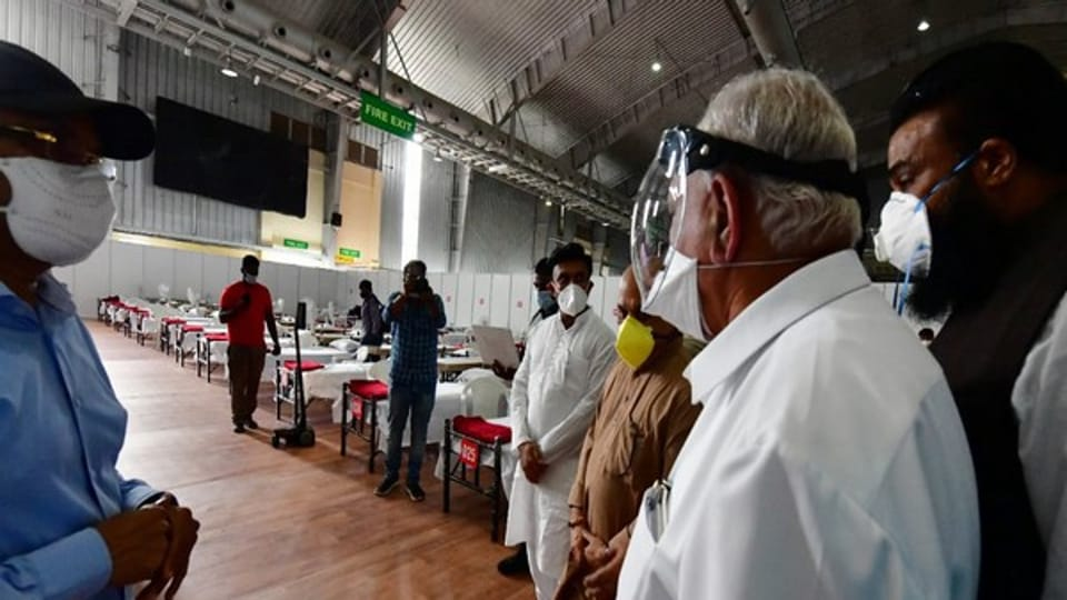Karnataka Cm BS Yediyurappa said that number of coronavirus cases in the state increased since the beginning of the unlock process and underlined that the State Government is taking all measures to combat the disease.