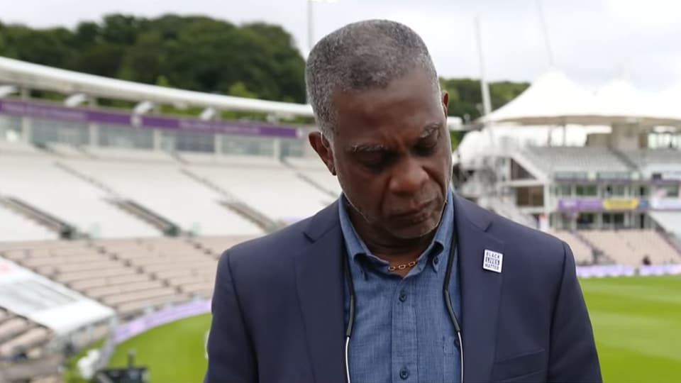 West Indies legend Michael Holding breaks down while speaking on racism