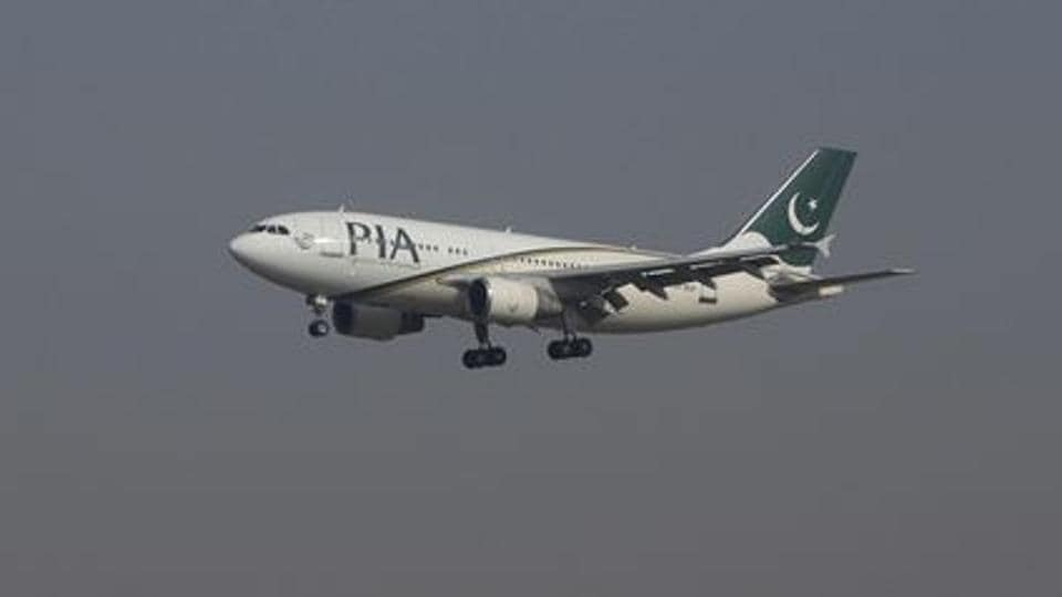 A Pakistan International Airlines (PIA) passenger plane arrives at the Benazir International airport in Islamabad, Pakistan in December 2015.