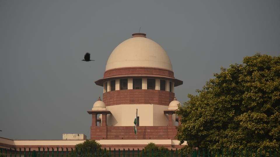 The Supreme Court was hearing a petition seeking extension of validity of cheques.