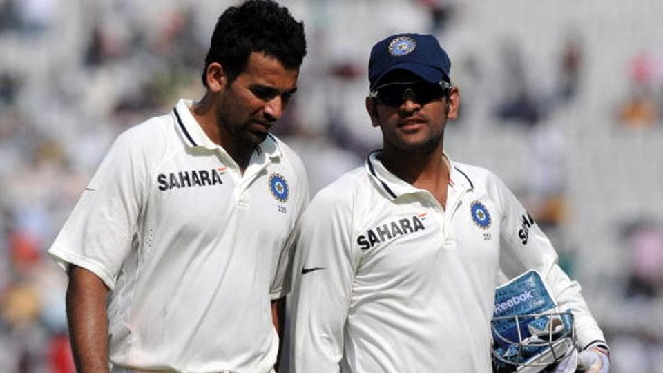 Zaheer played 33 Tests under Dhoni and picked up 123 wickets.