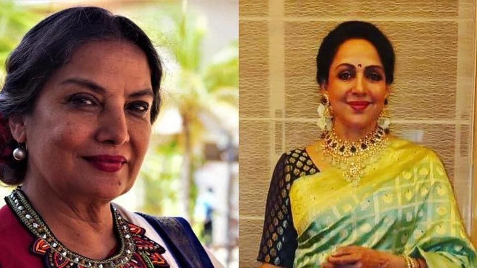While Shabana Azmi is 69 while Hema Malini is 71 year old.