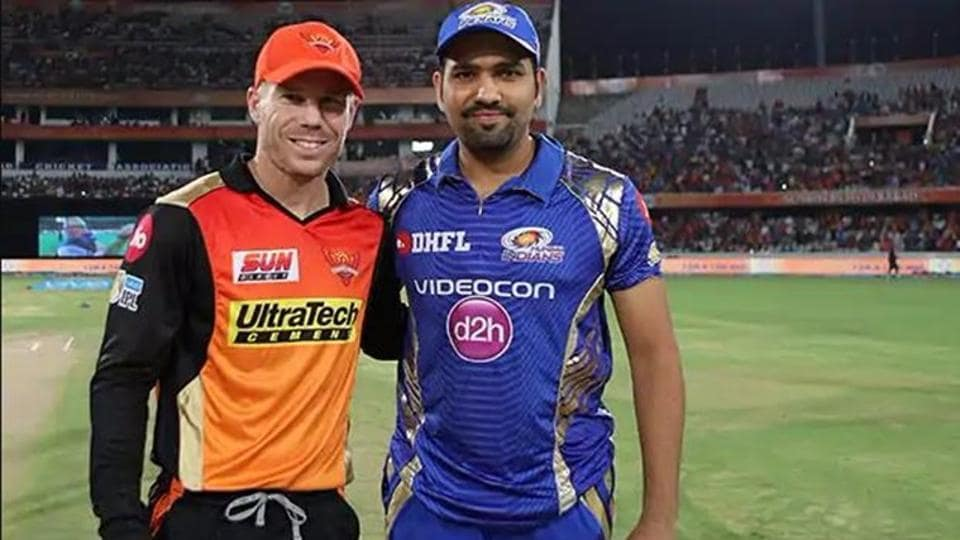 File image of David Warner and Rohit Sharma.