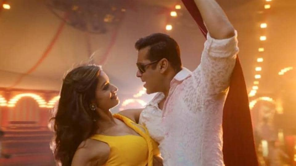 Salman Khan and Disha Patani worked together in Bharat before.
