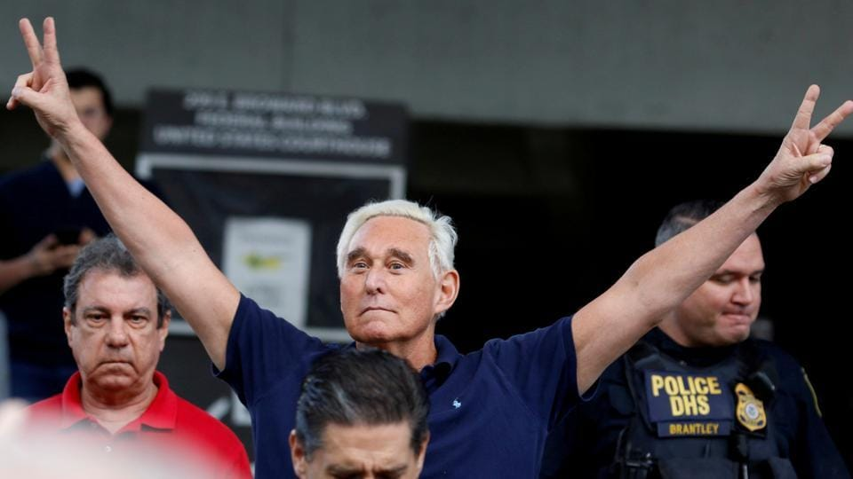 Stone, 67, was scheduled to report by Tuesday to a federal prison in Jesup, Georgia, to begin serving a sentence of three years and four months for lying under oath to US lawmakers investigating Russian interference in the 2016 US election.