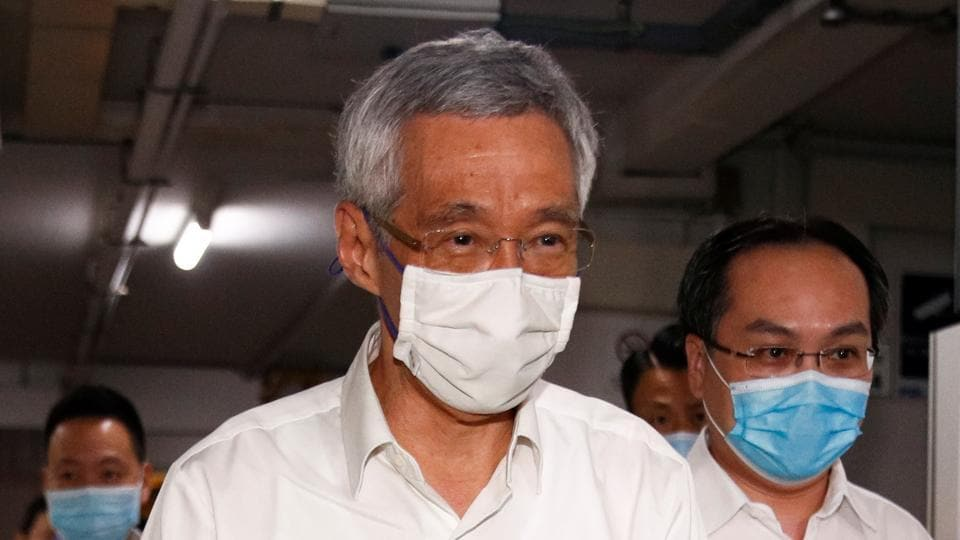 Singapore's Prime Minister Lee Hsien Loong's party won 83 seats.
