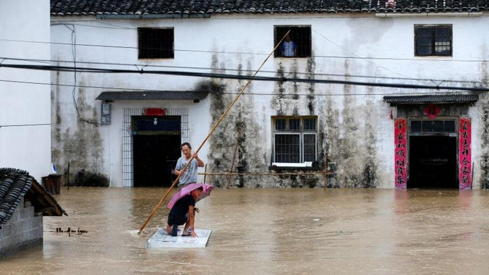 Jiangxi province in southern China declares highest flood alert
