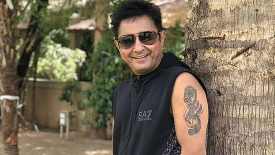Singer Sukhwinder Singh continued his work from home, recording for his upcoming songs.