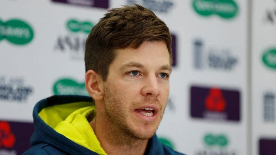 Australia's Tim Paine during a press conference.