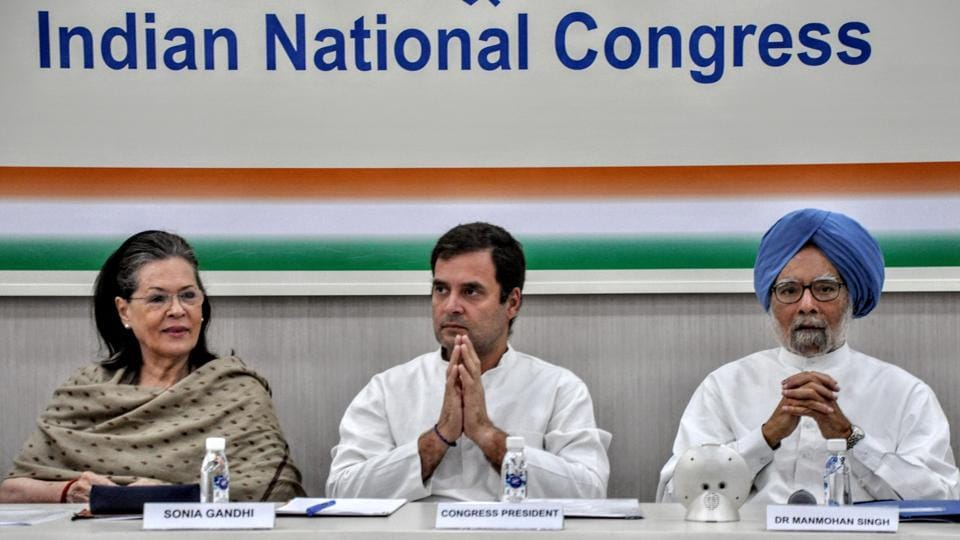 Rahul Gandhi once again highlighted the alleged failures of the government in tackling Covid-19 and its handling of the lockdown. (ANI Photo)