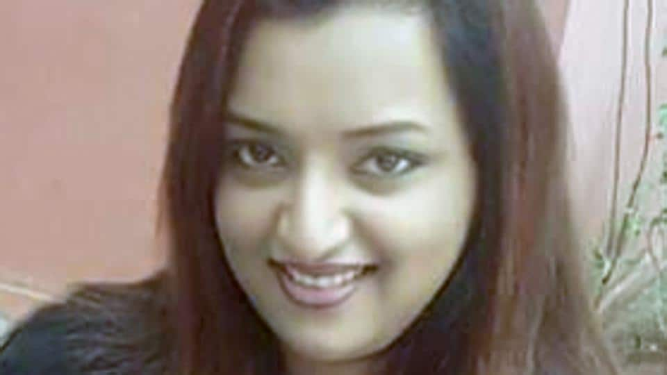 File photo of Swapna Suresh, who was detained by the NIA in connection with the gold smuggling case, in Bengaluru on Saturday.