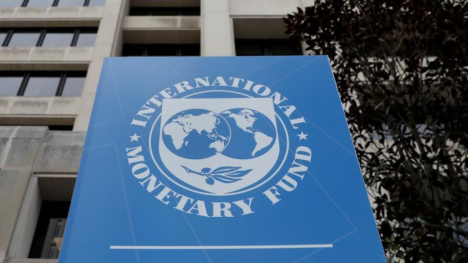 The International Monetary Fund (IMF) headquarters building is seen ahead of the IMF/World Bank spring meetings in Washington, US.