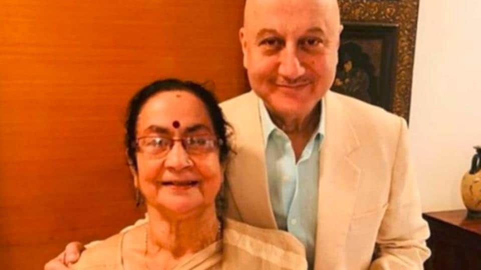 Anupam Kher's mother has been admitted to Kokilaben Hospital in Mumbai.
