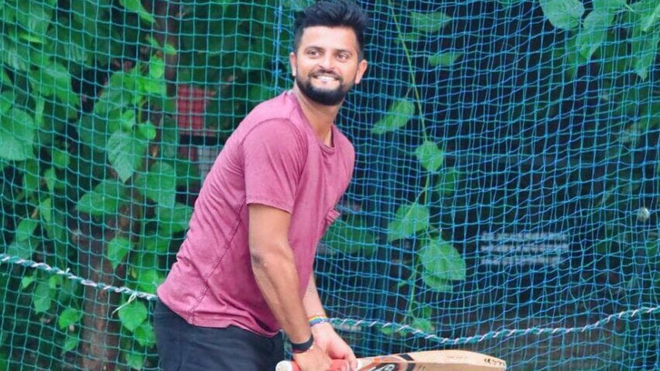 Suresh Raina posted an eight-minute long clip of his batting.