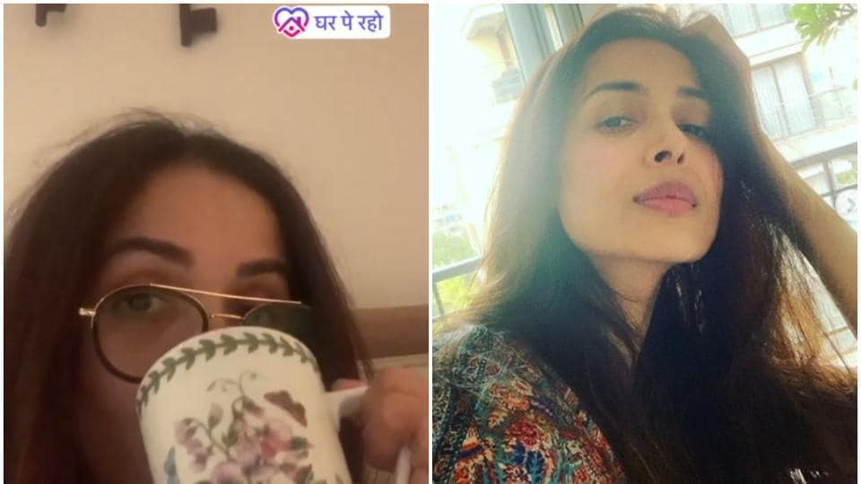 Malaika Arora has been staying home with her son for the last couple of months.