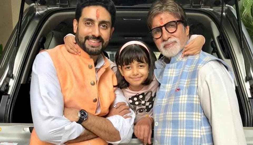 Amitabh Bachchan, son Abhishek, granddaughter Aaradhya and daughter-in-law Aishwarya have tested positive for Covid-19.