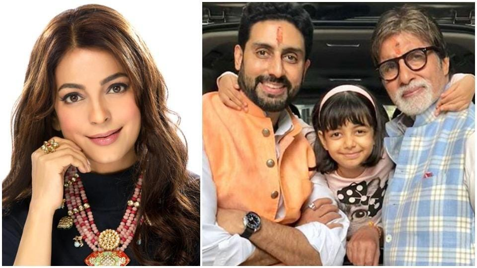 Juhi Chawla's tweet for the Bachchan family raised some confusion.