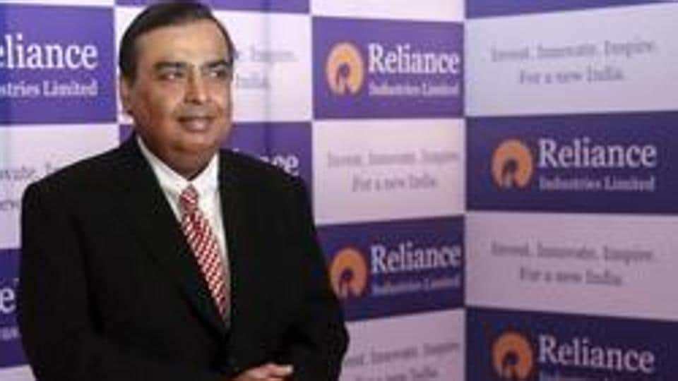 Mukesh Ambani, chairman of Reliance Industries Limited, during the annual shareholders meeting in Mumbai in June 2015.