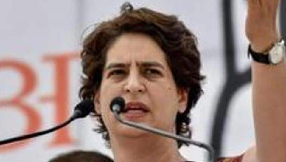 File photo:  Congress general secretary Priyanka Gandhi Vadra.