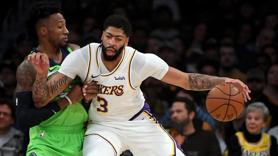 LA Lakers' Anthony Davis to wear own name on jersey in Orlando