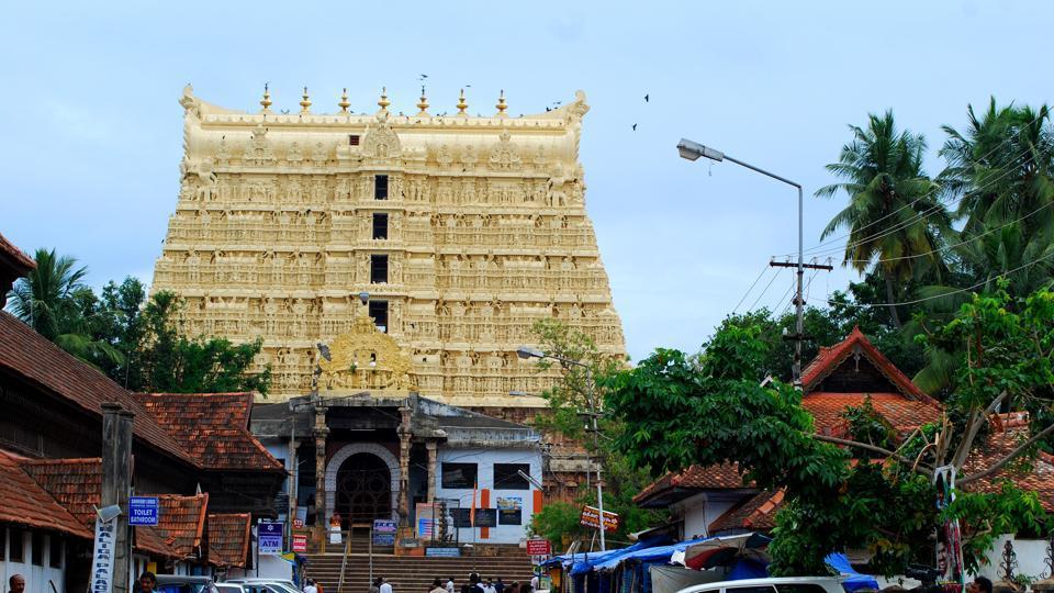East Entrance Sree Padmanabhaswamy Temple Thiruvananthapuram of the Sree Padmanabha Swamy Temple.
