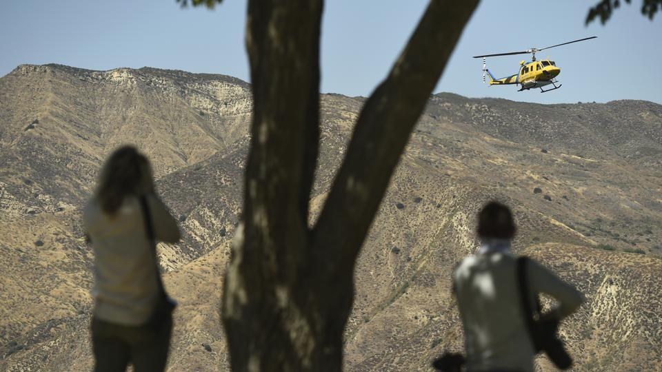 Body found in search of lake for 'Glee' star Naya Rivera ...