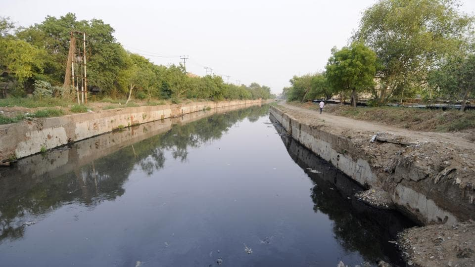 Residents said the drain, which was initially set up a few decades ago to provide water for irrigation in the region—should have been cleaned much ahead of monsoon when the risk of water-borne diseases is higher.