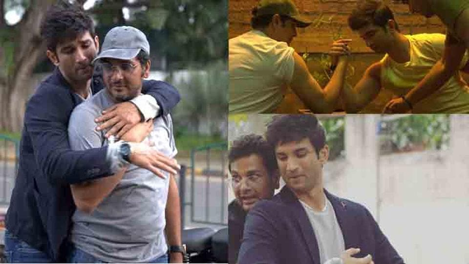 Mukesh Chhabra shared several candid pictures of late actor Sushant Singh Rajput.