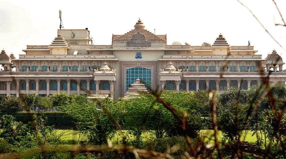ITC Grand Bharat hotel in Manesar where 11 to 12 Congress MLAs of the Pilot camp were housed.